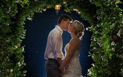Casey and Brian Married at Moonstone Manor