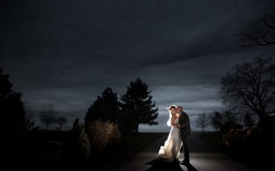 Brittany and Tom Married at Wyndridge Farm