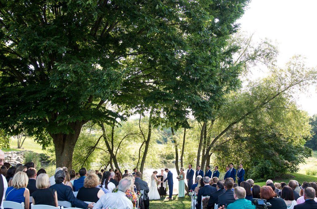 A Stylish Wedding at The Farm at Eagles Ridge