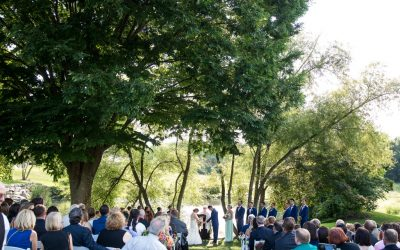 A Stylish Wedding at The Farm at Eagles Ridge