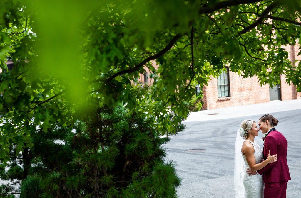 A Beautiful Wedding at The Cork Factory Hotel   Jillian and Pam
